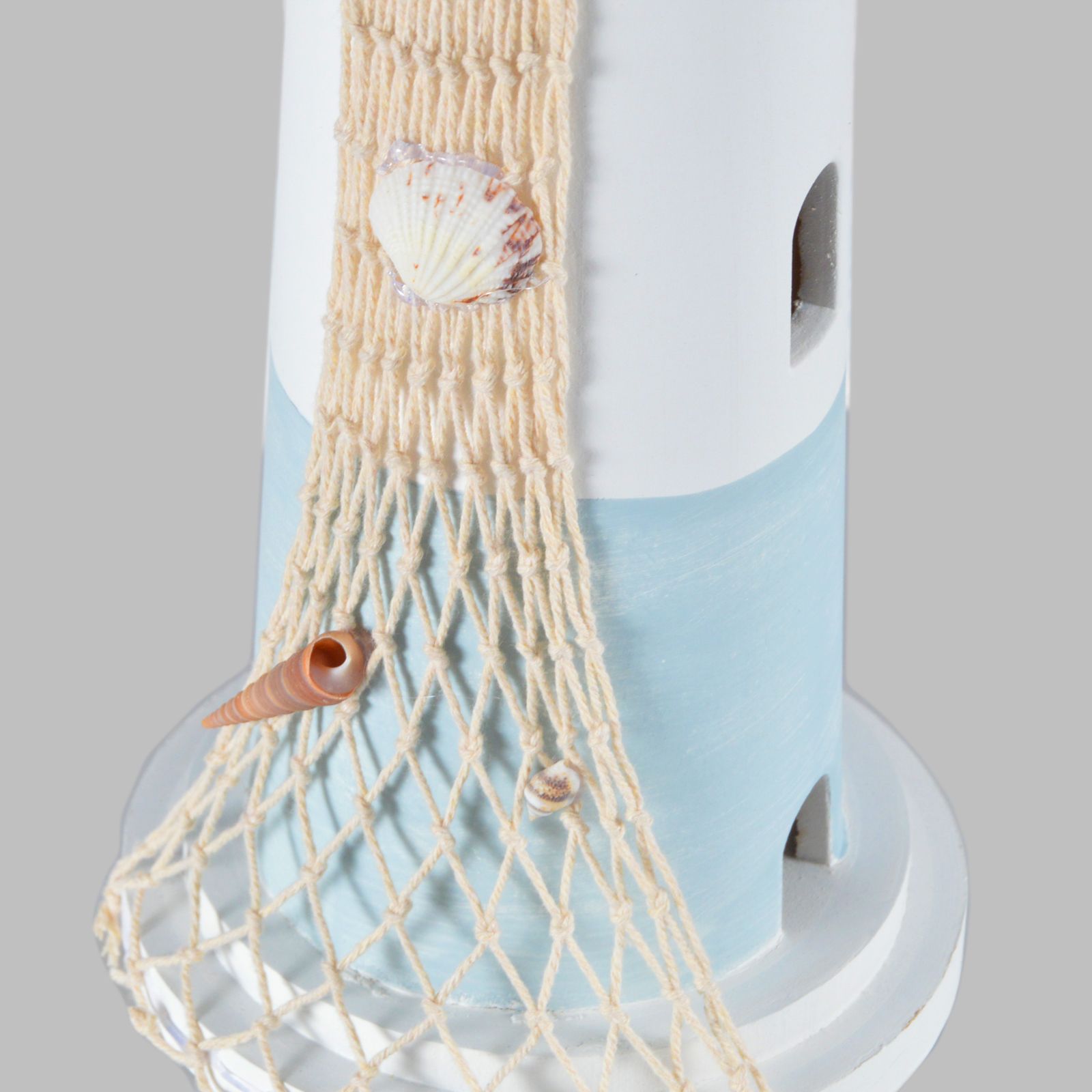 Leuchtturm Holz Deko Strand Meer Dekoration Badezimmer