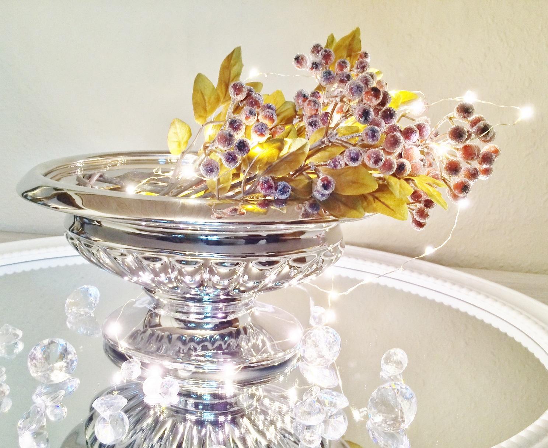Keramikschale dekoschale silber hochglanz dekoration weihnachten oval dekoteller ebay - Dekoration silber ...