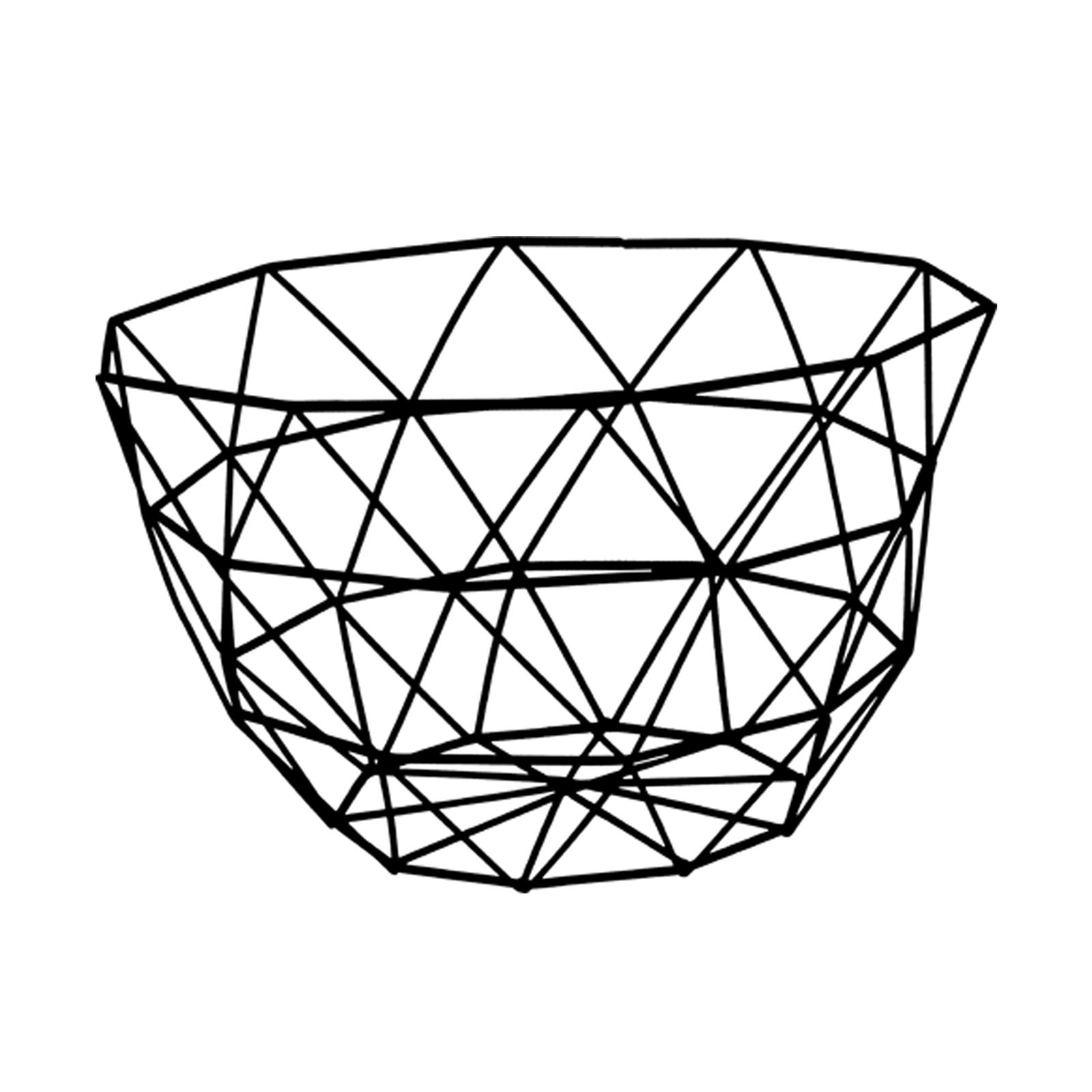 obstkorb gitterkorb drahtkorb metall korb draht brotkorb kartoffelkorb dekokorb ebay. Black Bedroom Furniture Sets. Home Design Ideas