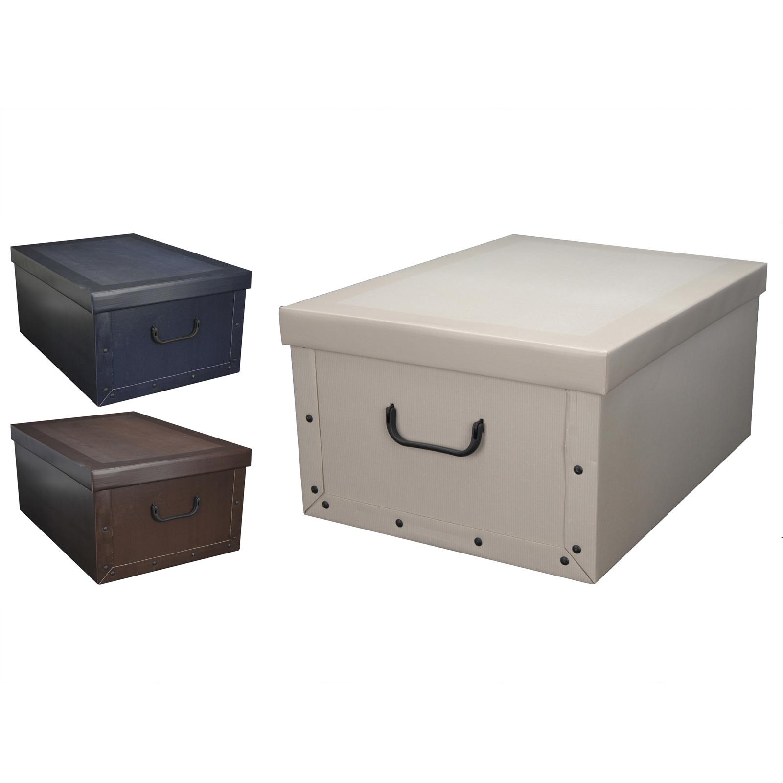 3 farben faltbare aufbewahrungsbox aufbewahrungskiste. Black Bedroom Furniture Sets. Home Design Ideas