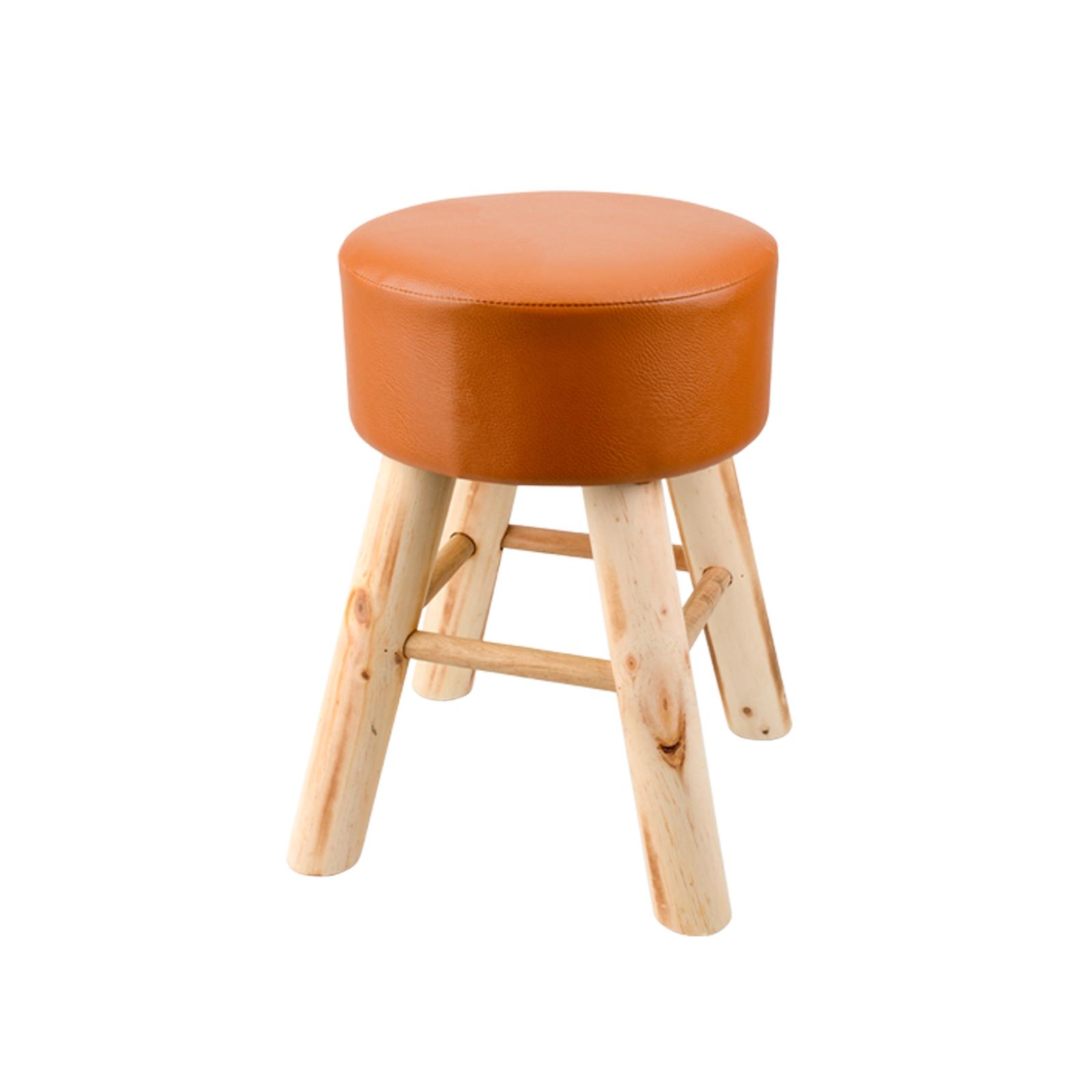2 farben lederhocker kunstleder sitzhocker polsterhocker. Black Bedroom Furniture Sets. Home Design Ideas