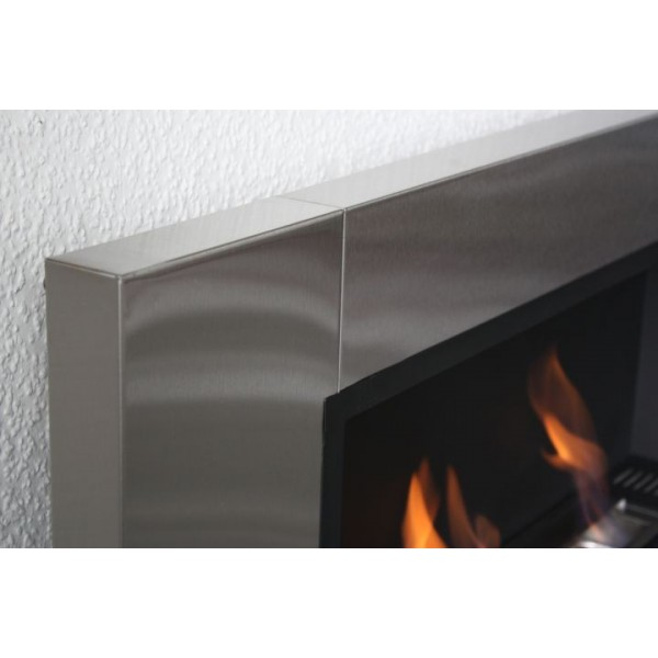 Luxus Kamin Bio Ethanol Gelkamin Wall Fireplace Cheminee Black High Gloss  eBay