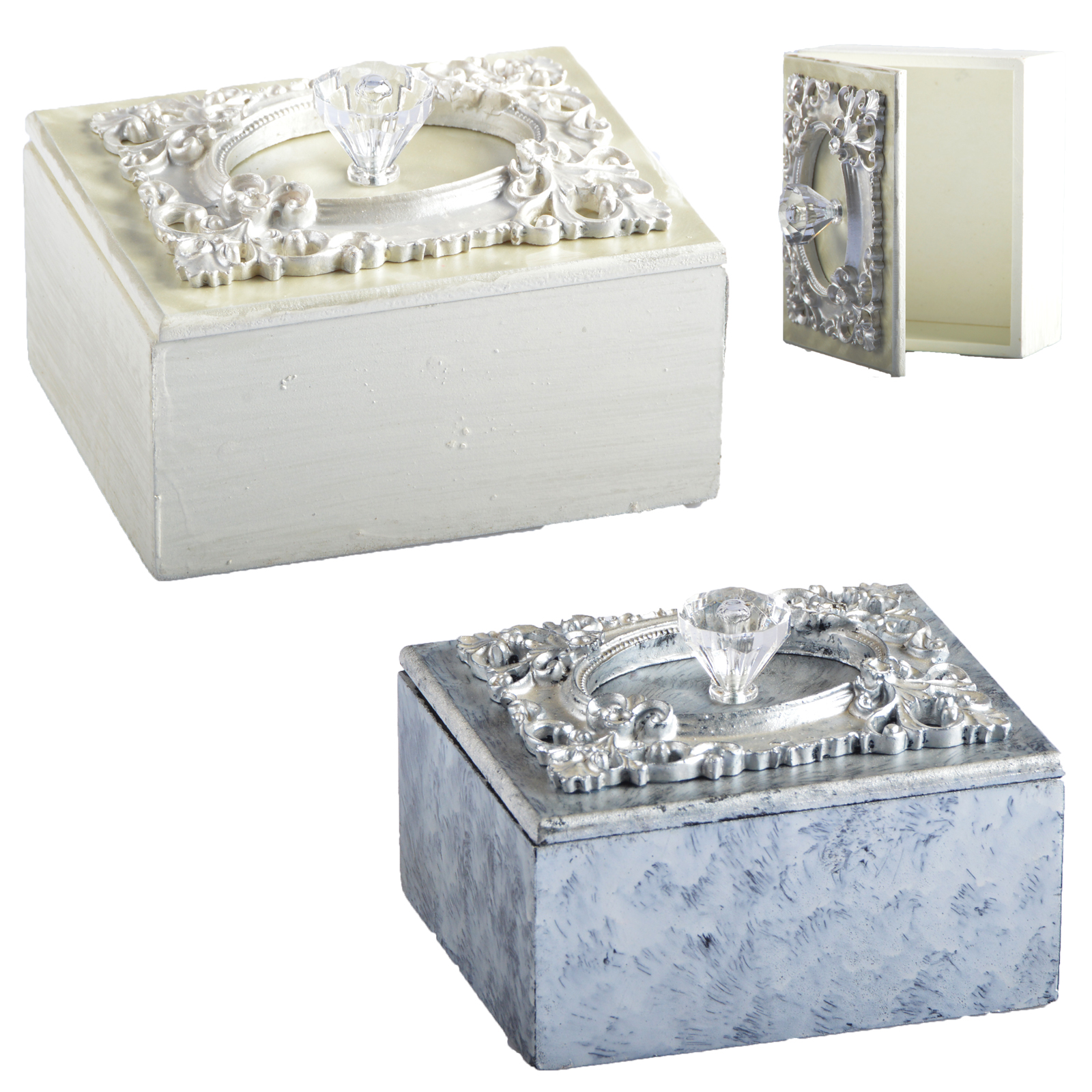 2 farben schmuckkasten schmuckbeh lter schmuckschatulle. Black Bedroom Furniture Sets. Home Design Ideas
