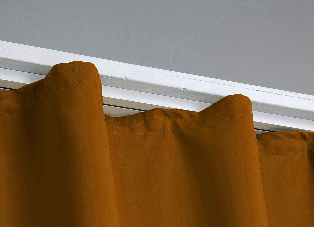 verdunklungsgardine thermogardine blickdicht gardine vorhang schal band sen ebay. Black Bedroom Furniture Sets. Home Design Ideas