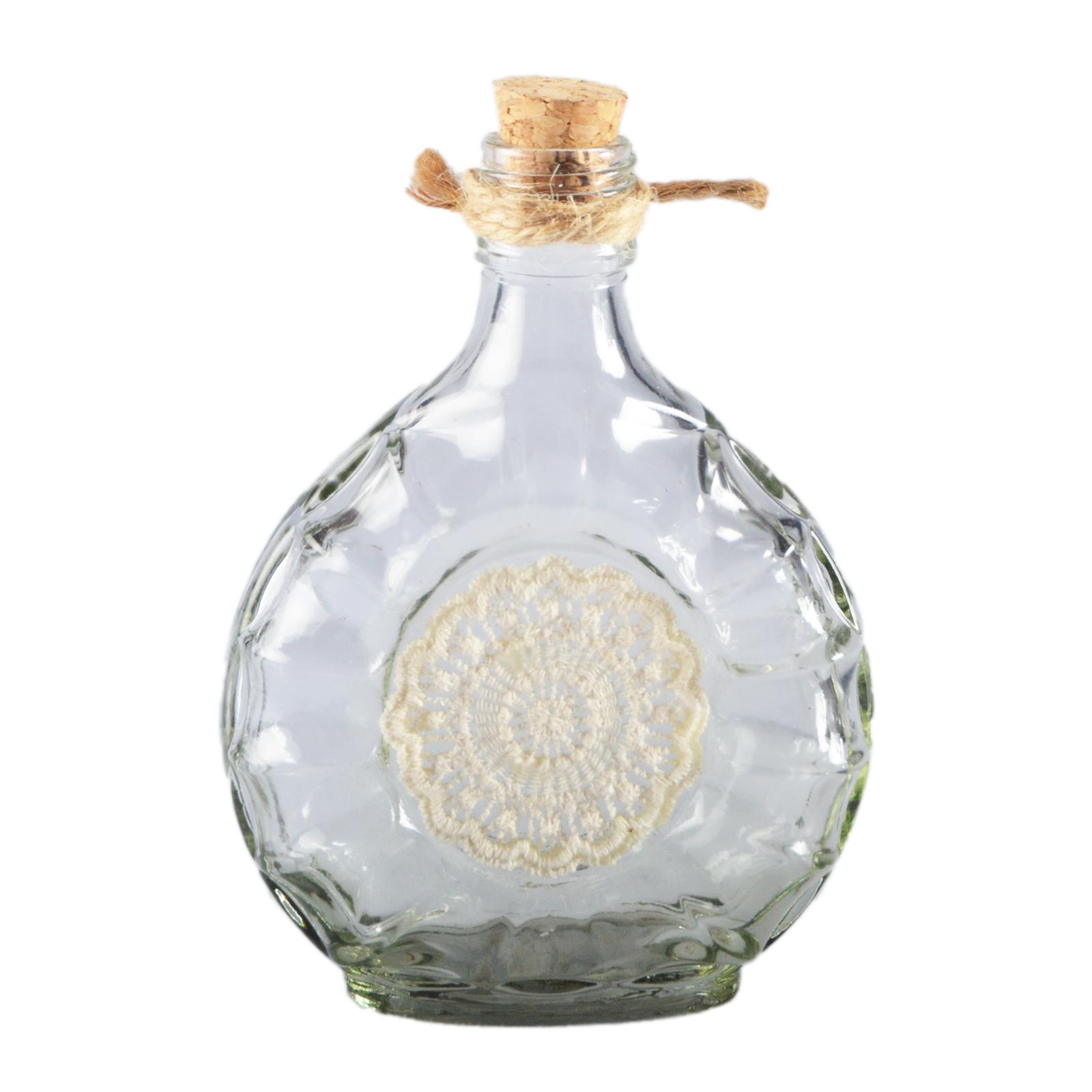 Botellas decorativas decoraci n bordado de vidrio - Decoracion de botellas ...