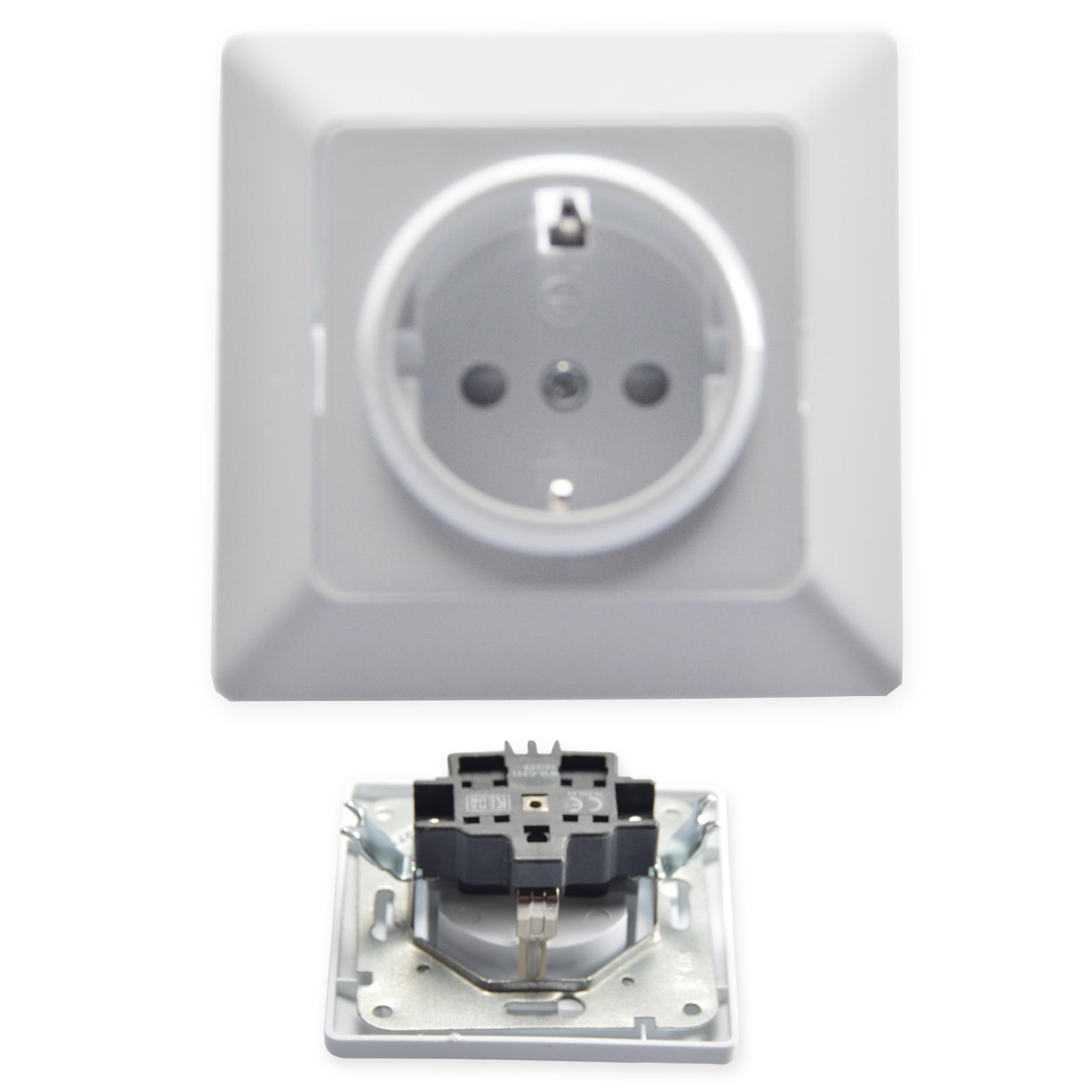 universal schalter lichtschalter steckdose dimmer verkleidung wippenschalter ebay. Black Bedroom Furniture Sets. Home Design Ideas